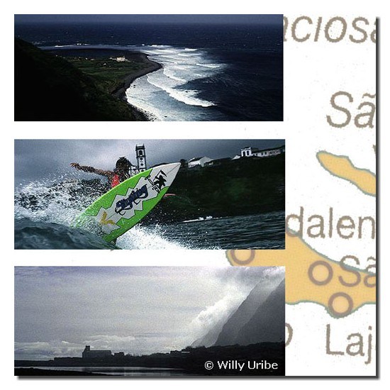 Surf Islas Azores. WU PHOTO © Willy Uribe