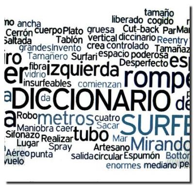 Breve diccionario de surf. Tengo Sitio Libre. Blog de Willy Uribe