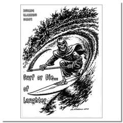 Surf or die... of Laughter. Un libro de Eduardo Illarregui