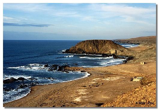 Costa al sur de Sidi Ifni. Marruecos.