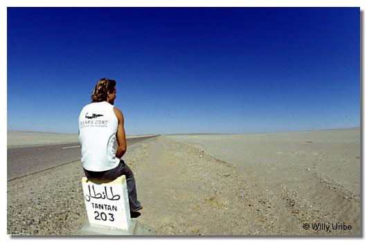 Axi Muniain. Desierto del Sahara. WU PHOTO © Willy Uribe