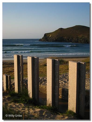 Crómlech longitudinal de Pantín, Galicia. WU PHOTO © Willy Uribe