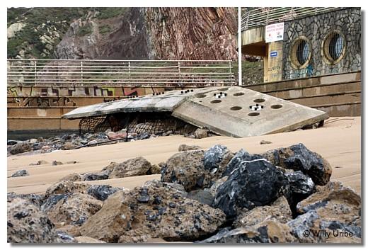 Playa de Sopelana, Euskadi. WU PHOTO © Willy Uribe
