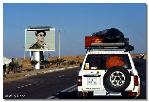 Mohamed VI Western Sahara Occidental WU PHOTO © Willy Uribe
