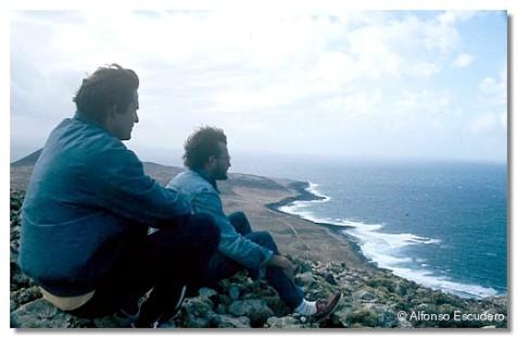 Gonzalo Gandarias y Alfonso Escudero. La Graciosa, 1983