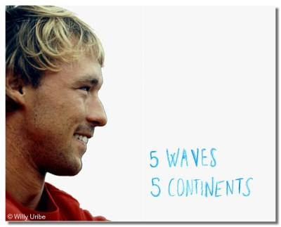 Kepa Acero. 5 Waves 5 Continents