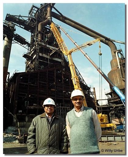Demolición de A.H.V. Sestao. 1999. WU PHOTO © Willy Uribe
