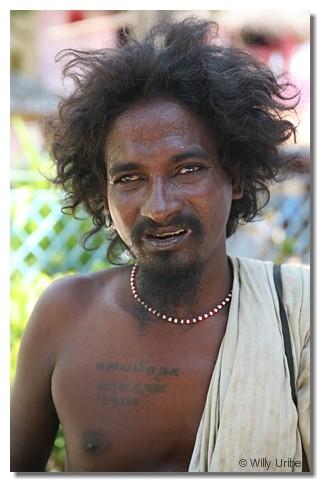Mendigo. Tamil Nadu. India. 2007. WU PHOTO © Willy Uribe