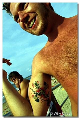 Didac Piquer. Salinas Longboard Festival. WU PHOTO © Willy Uribe
