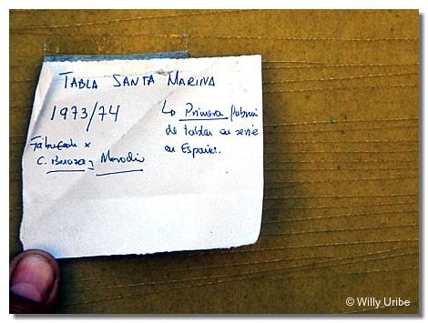 Santa Marina. Primera factoría de tablas de surf en España. WU PHOTO © Willy Uribe