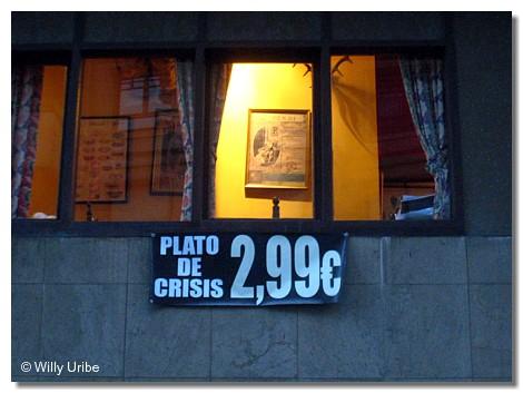 Restaurante en Getxo, Euskadi. WU PHOTO © Willy Uribe