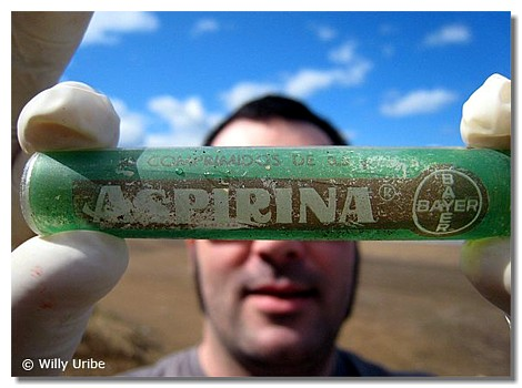 Aspirina para sobrellevar la incertidumbre WU PHOTO © Willy Uribe