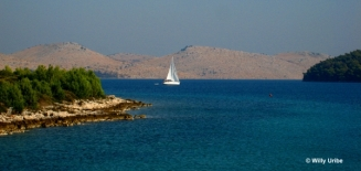 Bahía de Teláscica. Dugi Otok. Dalmacia. Croacia.