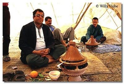 En la zona rural de Marruecos es difícil comer mal. WU PHOTO © Willy Uribe
