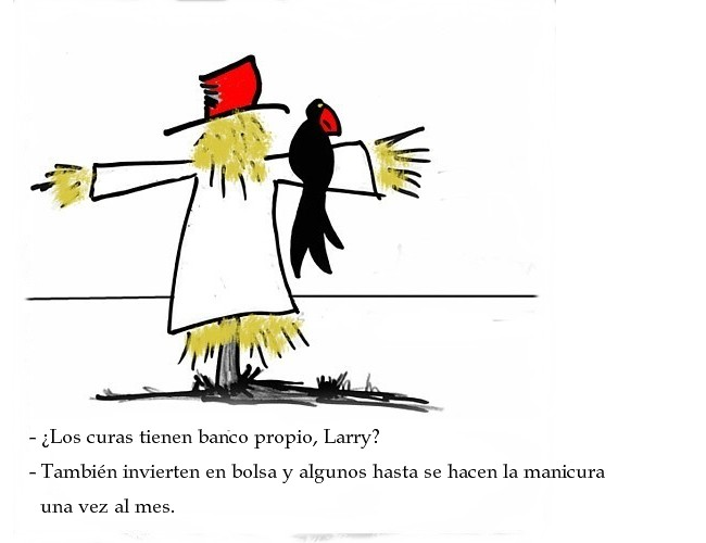 Larry & Bertleman. Tengo Sitio Libre. Blog de Willy Uribe