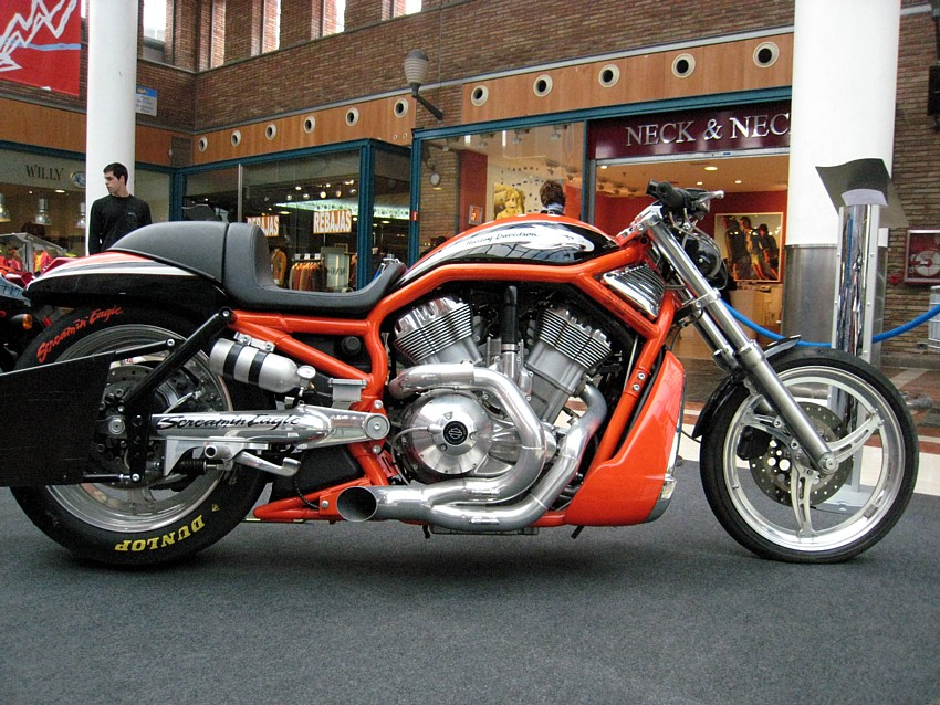 Harley-Davidson DESTROYER. Cilindrada ND