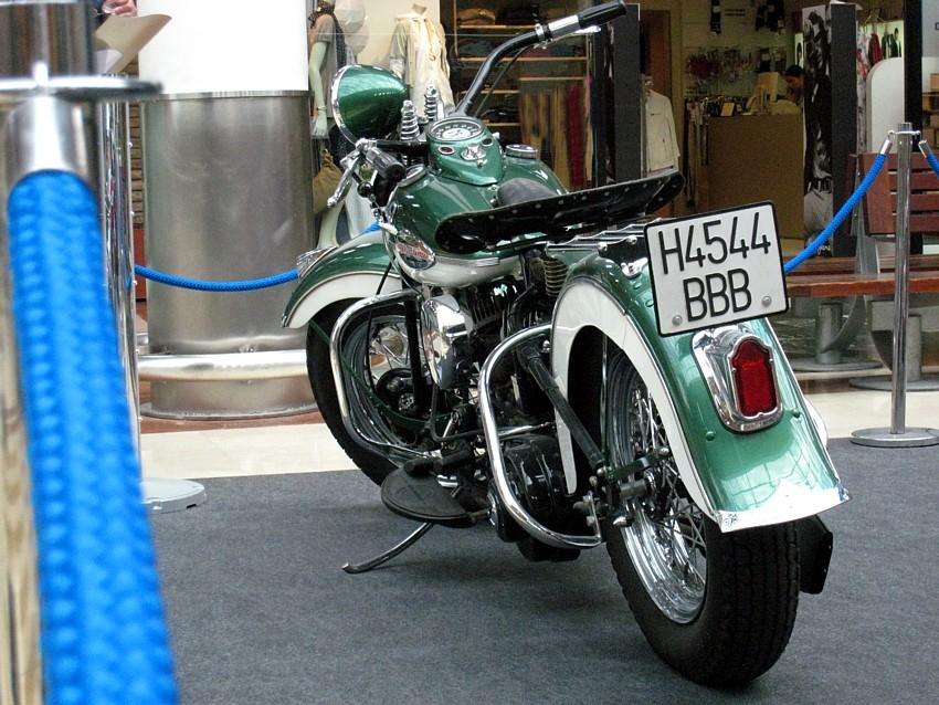 Harley-Davidson WLA 1942. 750 cc.