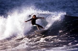 Jupa Soler. Bakio 80s. Foto Willy Uribe