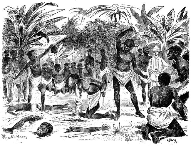 Canibalismo. Tres años en el Congo, por Teodoro Westmark. Africa Pintoresca. Montaner y Simón, Barcelona 1888.