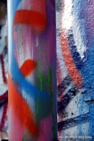 Graffiti WU PHOTO © Willy Uribe