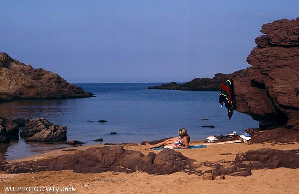 Cala Pregonda. Menorca. Baleares. Spain. © WU PHOTO Archivo fotográfico Willy Uribe