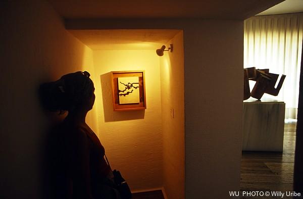 Museo de arte abstracto español. Cuenca © WU PHOTO Archivo fotográfico Willy Uribe