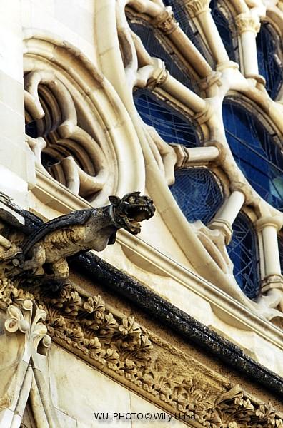 Gárgola. Catedral de Cuenca. Castilla La Mancha. Spain. © WU PHOTO Archivo fotográfico Willy Uribe
