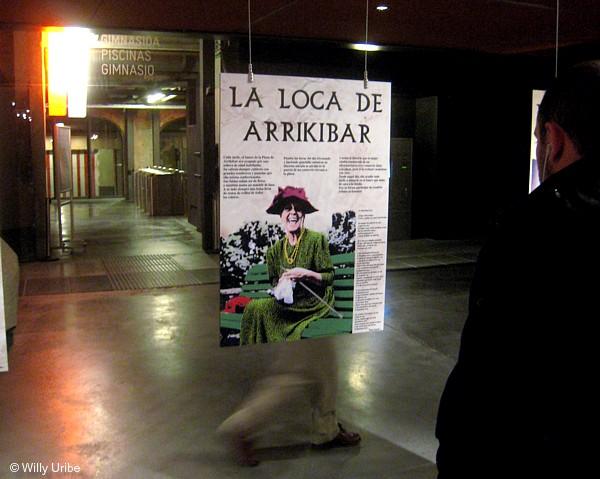 Lola Herrera en el papel de Loca de Arriquibar. Foto © Willy Uribe