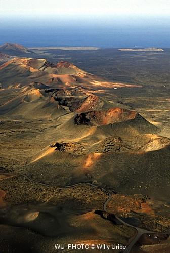 Parque Nacional de Timanfaya. Lanzarote. Canarias WU PHOTO © Willy Uribe