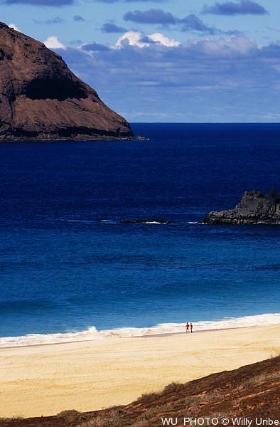 Playa de Las Conchas. Isla de La Graciosa. Canarias © WU PHOTO Archivo fotográfico Willy Uribe