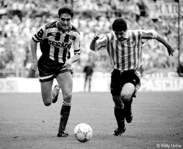 Athletic de Bilbao 90's © WU PHOTO Archivo fotográfico Willy Uribe