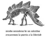 ETA. Dinosaurios. Spain. España. Euskadi. Tengo Sitio Libre. Blog de Willy Uribe