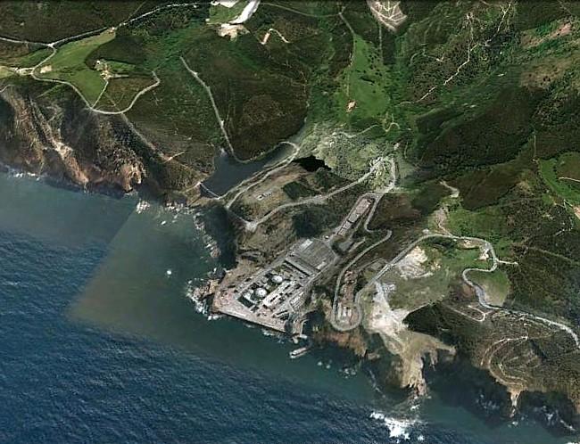 Central nuclear de Lemoiz. País Vasco. Spain.