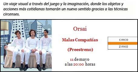 Orsai. Malas compañías. Pabellón 6. Bilbao. Tengo Sitio Libre. Blog de Willy Uribe
