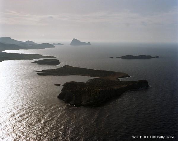 Isla Conejera. Ibiza. Islas Baleares. Spain © WU PHOTO Archivo fotográfico Willy Uribe
