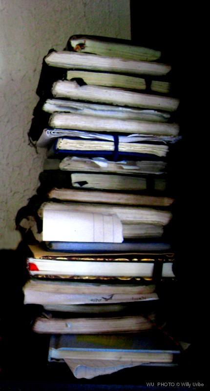 Libretas de Luis Tejerina, poeta. Tengo Sitio Libre. Cuaderno digital Willy Uribe