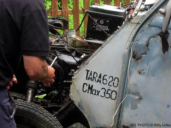 Citroën dos caballos furgoneta. Tengo Sitio Libre. Blog de Willy Uribe.
