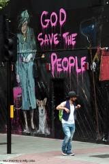 God save the people. London 2012. Tengo Sitio Libre. Blog de Willy Uribe.