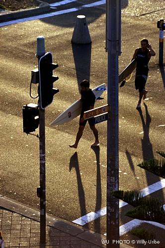 Surfing Street. Coogee beach. Sydney. Australia WU PHOTO © Willy Uribe