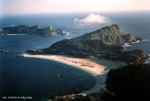 Praia das Rodas. Islas Cíes. Galicia. WU PHOTO © Willy Uribe