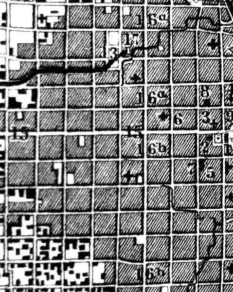 Buenos Aires. Mapa callejero. Finales del siglo XIX