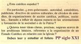 PP siglo XXI. Tengo Sitio Libre. Blog de Willy Uribe.