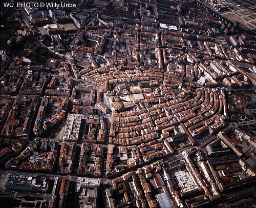 Vitoria Gasteiz. Fotografía aérea. Euskadi © WU PHOTO Archivo fotográfico Willy Uribe