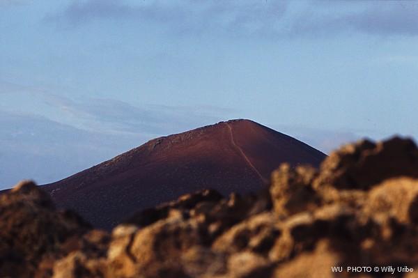 Volcán de Montaña Bermeja. La Graciosa. Islas Canarias © WU PHOTO Archivo Fotográfico Reportajes Willy Uribe