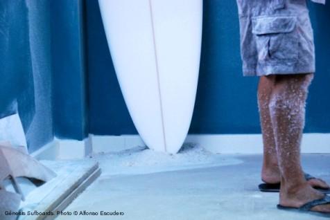 Génesis Surfboards. Gonzalo Gandarias y Alfonso Escudero.