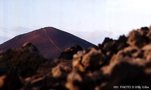 Volcán de Monaña Bermeja. Isla de La Graciosa. WU PHOTO © Willy Uribe