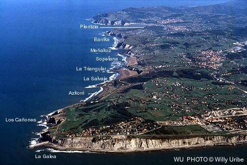 La Surfclopedia. Uribe Kosta. Surfing Euskadi Tengo Sitio Libre. Blog de Willy Uribe.
