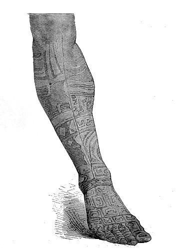 Nuku-Hiva, islas Marquesas. Tatuajes polinesios. Tengo Sitio Libre. Blog de Willy Uribe.