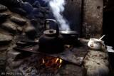 Cocinando en el desierto de Atacama. Chile.