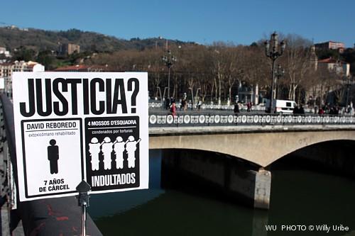 Guía visual de Bilbao. Guía fotográfica.  Turismo Bilbao. Puente del Arenal.